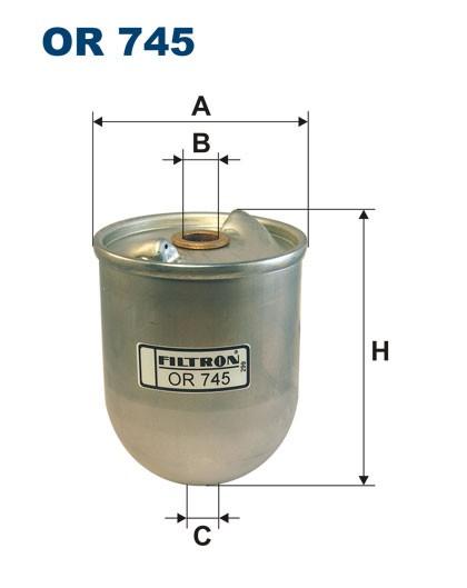 Filtr oleju OR 745 (OR745) FILTRON
