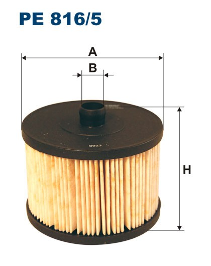Filtr paliwa PE 816/5 [PE8165] FILTRON