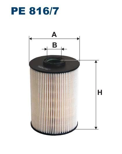 Filtr paliwa PE 816/7 [PE8167] FILTRON