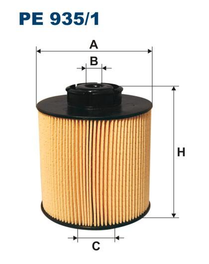 Filtr paliwa PE 935/1 [PE9351] FILTRON