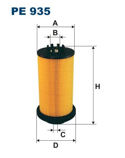 Filtr paliwa PE 935 [PE935] FILTRON