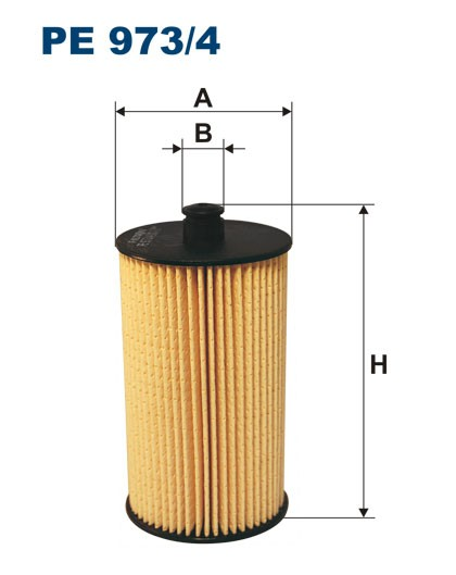 Filtr paliwa PE 973/4 [PE9734] FILTRON