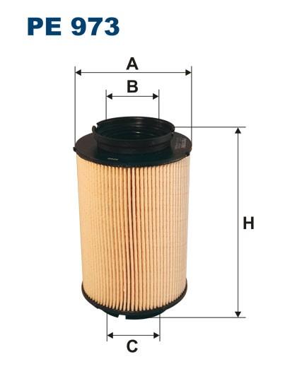 Filtr paliwa PE 973 [PE973] FILTRON