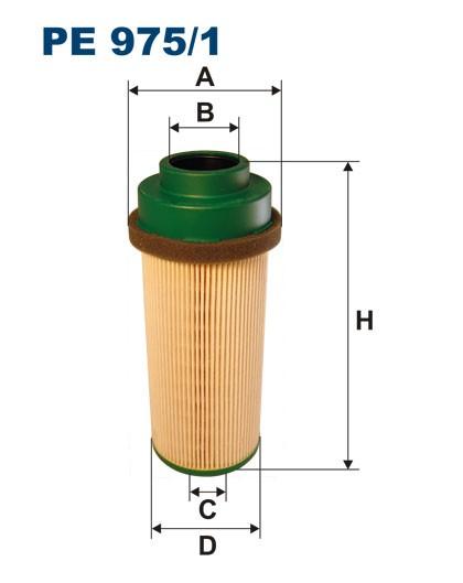 Filtr paliwa PE 975/1 [PE9751] FILTRON