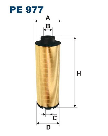 Filtr paliwa PE 977 [PE977] FILTRON
