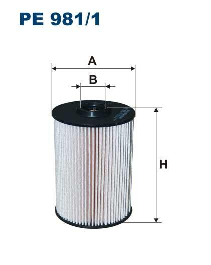 Filtr paliwa PE 981/1 [PE9811] FILTRON