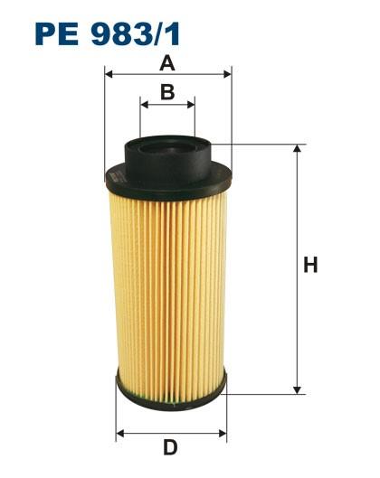 Filtr paliwa PE 983/1 [PE9831] FILTRON