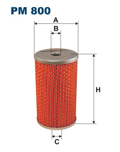 Filtr paliwa PM 800 [PM800] FILTRON
