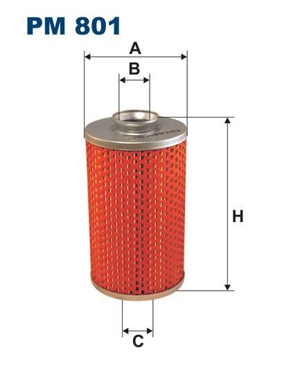 Filtr paliwa PM 801 [PM801] FILTRON