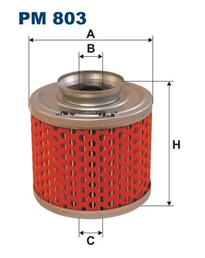 Filtr paliwa PM 803 [PM803] FILTRON
