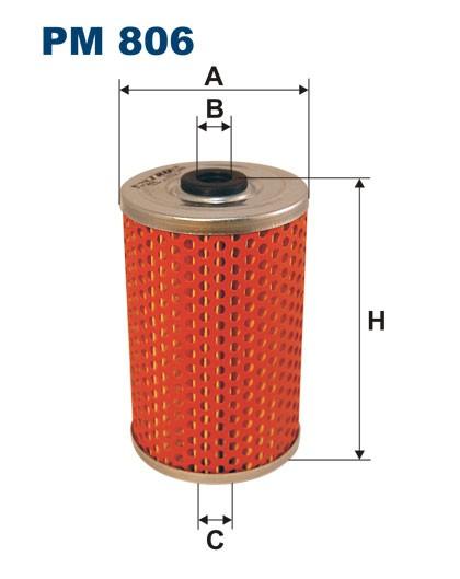 Filtr paliwa PM 806 [PM806] FILTRON