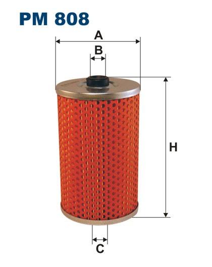 Filtr paliwa PM 808 [PM808] FILTRON
