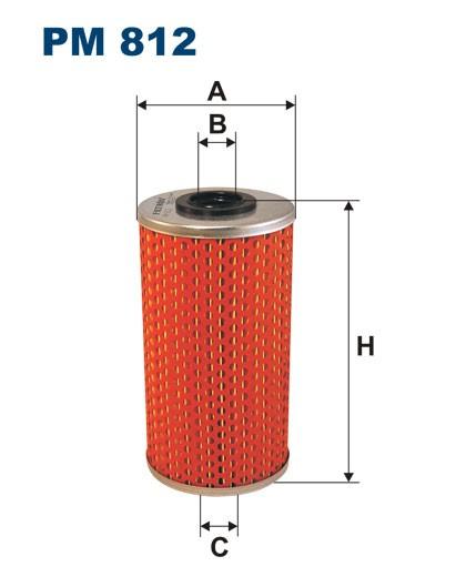 Filtr paliwa PM 812 [PM812] FILTRON