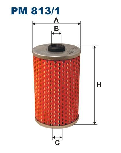 Filtr paliwa PM 813/1 [PM8131] FILTRON