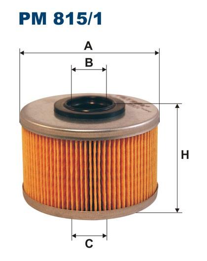 Filtr paliwa PM 815/1 [PM8151] FILTRON