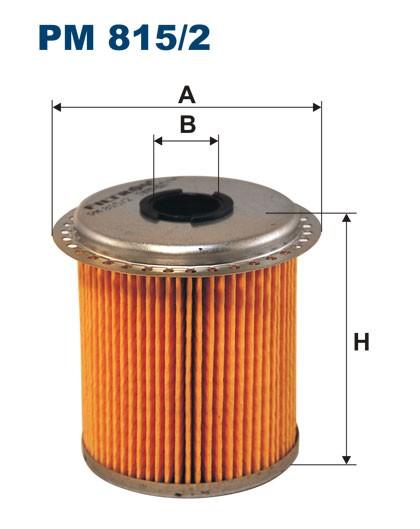 Filtr paliwa PM 815/2 [PM8152] FILTRON