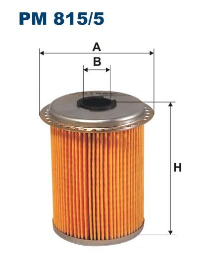Filtr paliwa PM 815/5 [PM8155] FILTRON