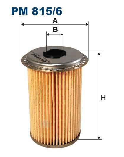Filtr paliwa PM 815/6 [PM8156] FILTRON