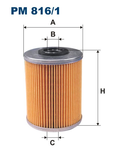 Filtr paliwa PM 816/1 [PM8161] FILTRON