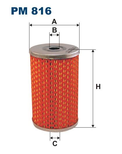 Filtr paliwa PM 816 [PM816] FILTRON