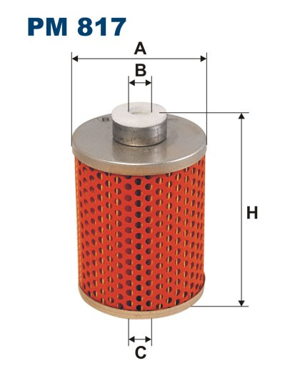 Filtr paliwa PM 817 [PM817] FILTRON