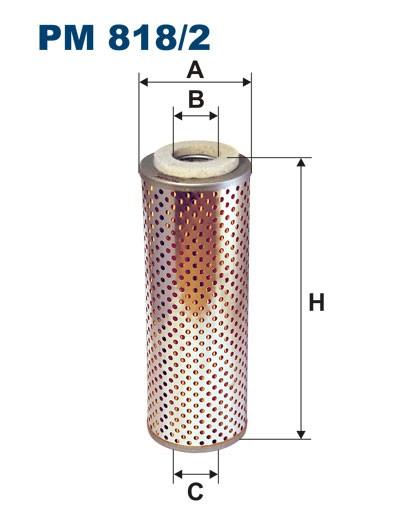 Filtr paliwa PM 818/2 [PM8182] FILTRON