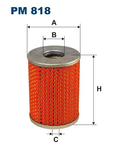Filtr paliwa PM 818 [PM818] FILTRON