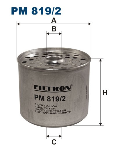 Filtr paliwa PM 819/2 [PM8192] FILTRON