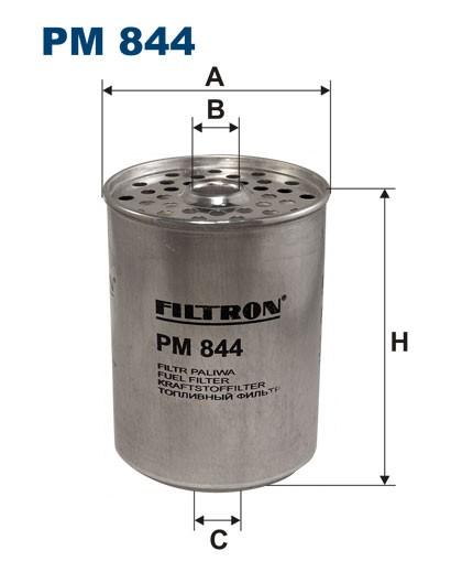 Filtr paliwa PM 844 [PM844] FILTRON