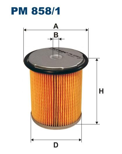 Filtr paliwa PM 858/1 [PM8581] FILTRON