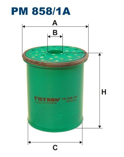 Filtr paliwa PM 858/1A [PM8581A] FILTRON
