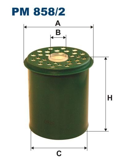 Filtr paliwa PM 858/2 [PM8582] FILTRON