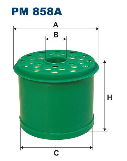 Filtr paliwa PM 858A [PM858A] FILTRON
