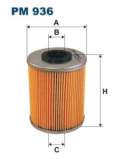Filtr paliwa PM 936 [PM936] FILTRON