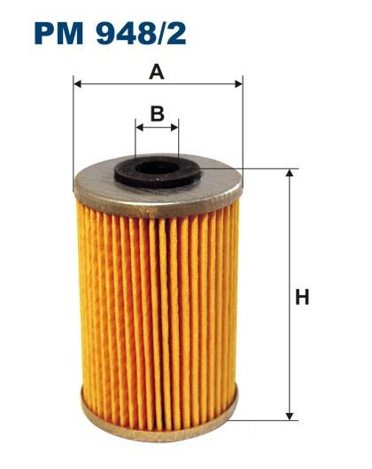 Filtr paliwa PM 948/2 [PM9482] FILTRON