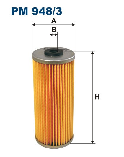 Filtr paliwa PM 948/3 [PM9483] FILTRON