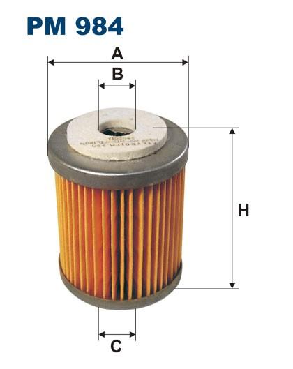 Filtr paliwa PM 984 [PM984] FILTRON