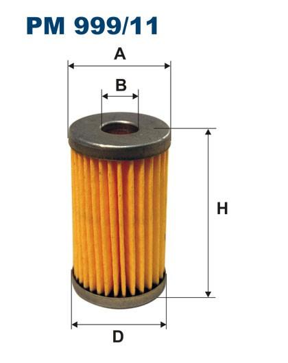 Filtr paliwa PM 999/11 [PM99911] FILTRON