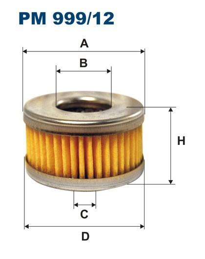 Filtr paliwa PM 999/12 [PM99912] FILTRON