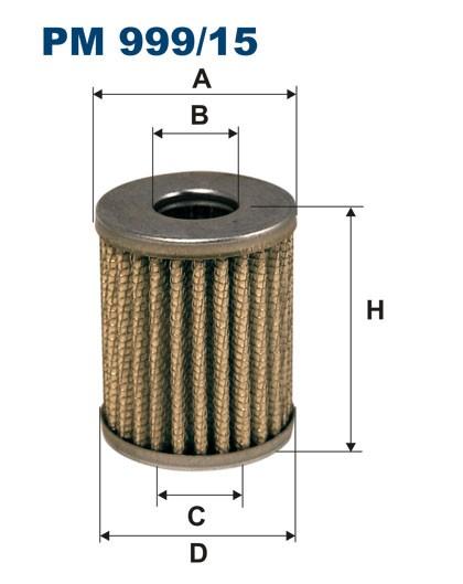 Filtr paliwa PM 999/15 [PM99915] FILTRON