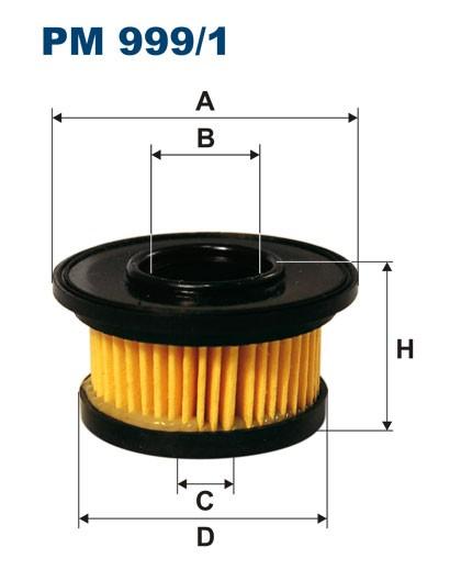 Filtr paliwa PM 999/1 [PM9991] FILTRON