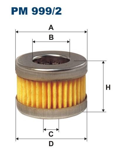 Filtr paliwa PM 999/2 [PM9992] FILTRON