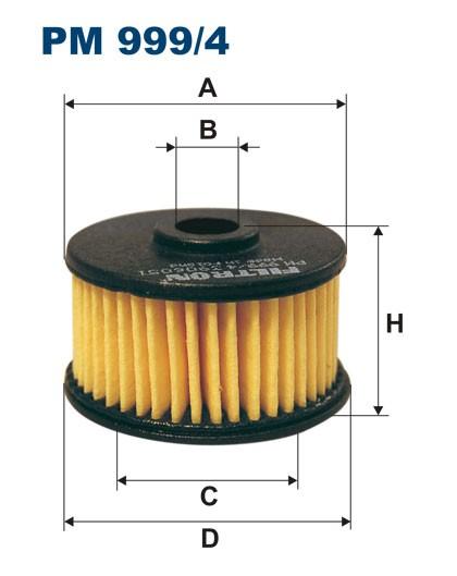 Filtr paliwa PM 999/4 [PM9994] FILTRON