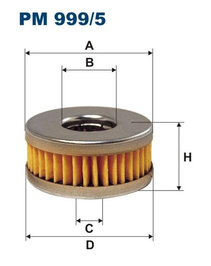 Filtr paliwa PM 999/5 [PM9995] FILTRON