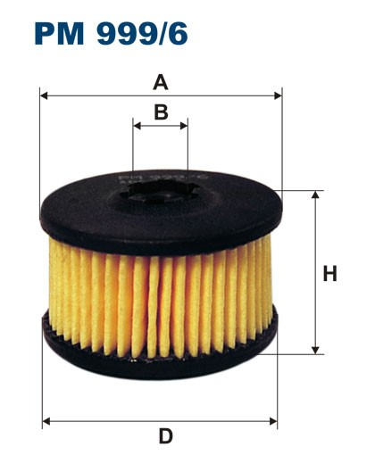 Filtr paliwa PM 999/6 [PM9996] FILTRON