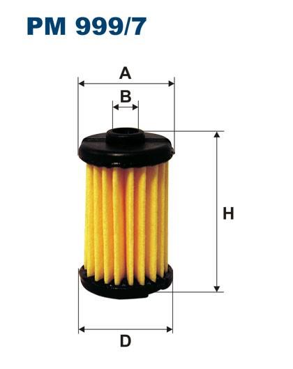 Filtr paliwa PM 999/7 [PM9997] FILTRON