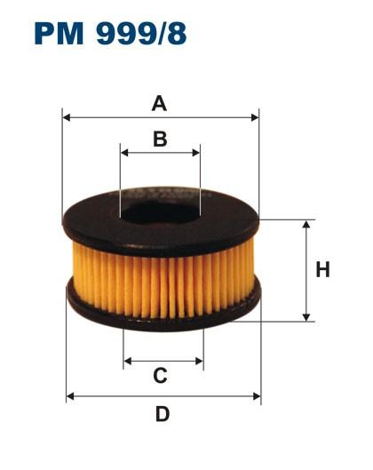 Filtr paliwa PM 999/8 [PM9998] FILTRON