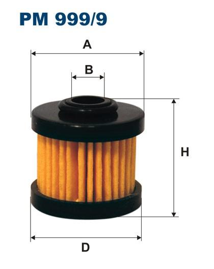 Filtr paliwa PM 999/9 [PM9999] FILTRON