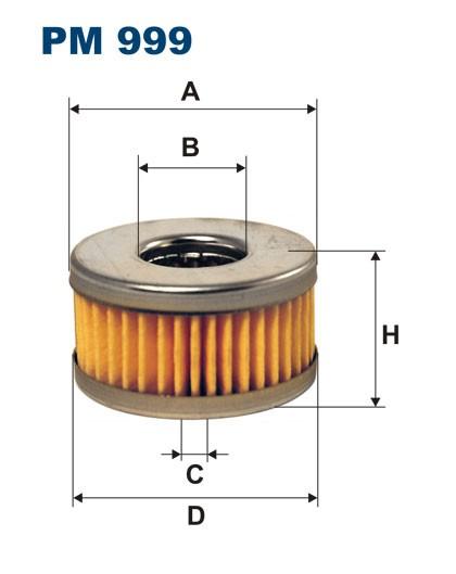 Filtr paliwa PM 999 [PM999] FILTRON