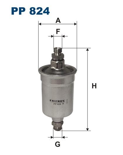 Filtr paliwa PP 824 [PP824] FILTRON